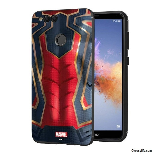 MTT Spider man Back Case Cover for Honor 7X