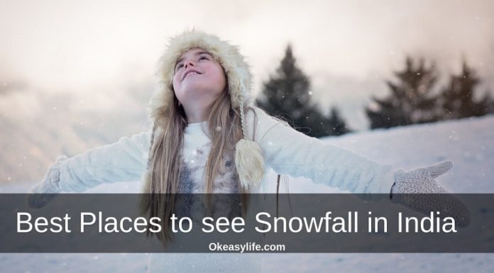 Best places to see snowfall in India