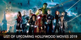 Upcoming Hollywood Movies
