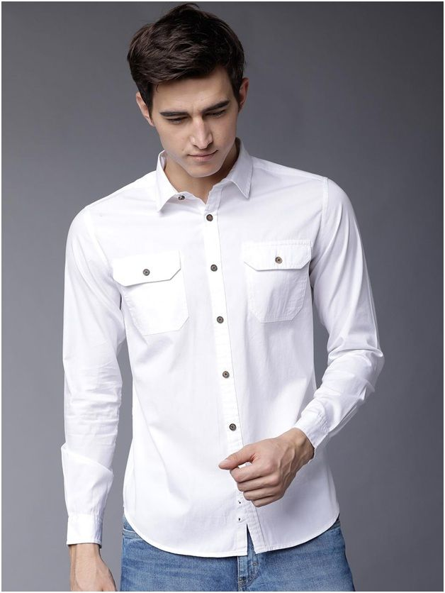 DOUBLE POCKET CASUAL SHIRT