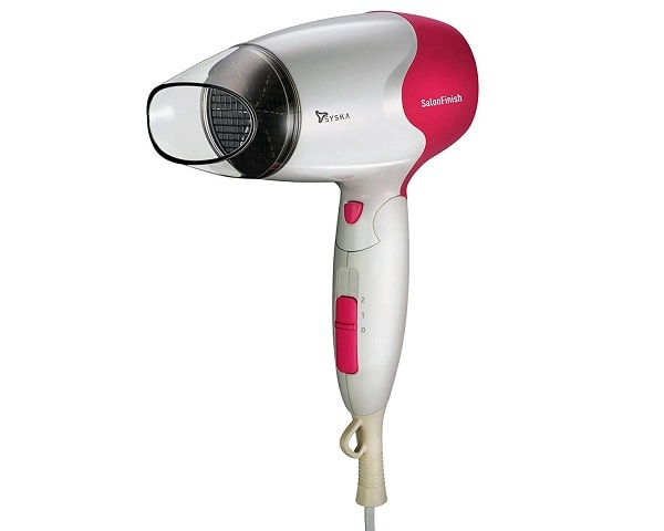 SYSKA HD3600 1500W Hair Dryer (White Pink)