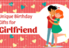 Gift Ideas Girlfriend
