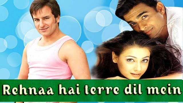 Rehna Hai Tere Dil Mein Bollywood romantic movies