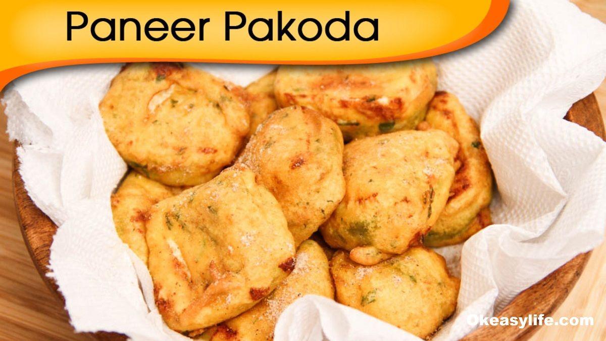 Paneer Pakoda recipe