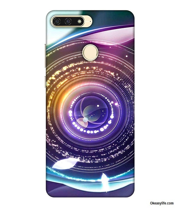Printfidaa Huawei Honor 7A Back Cover