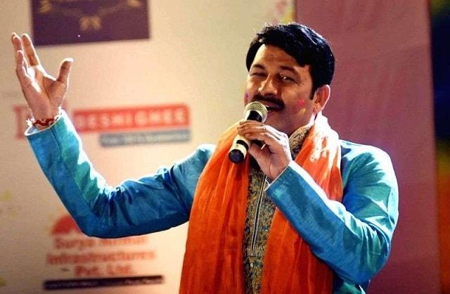 Manoj Tiwari -Bhojpuri singer