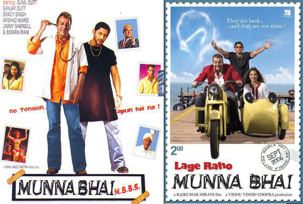 Munna Bhai top bollywood comedy movies