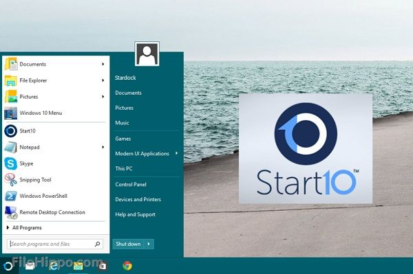 STARDOCK START Windows 10 Themes