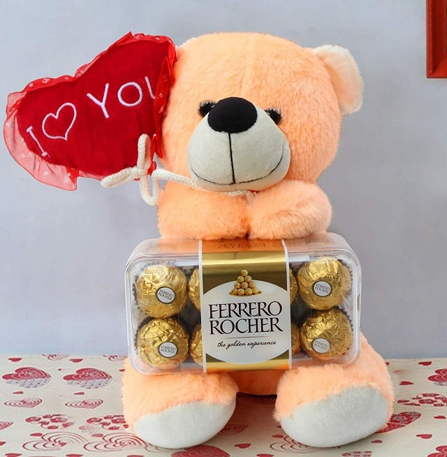 Teddy & Ferrero Rocher Combo