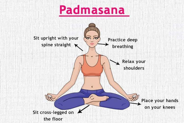 padmasana Yoga Asana