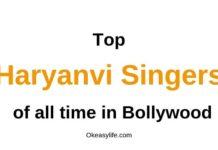 Haryanvi Singers