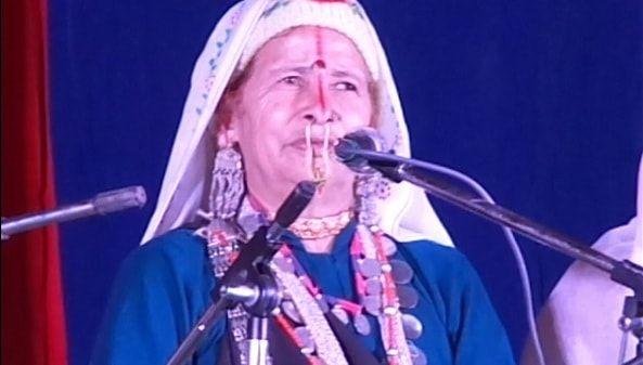 Garhwali Singer Basanti Devi Bisht