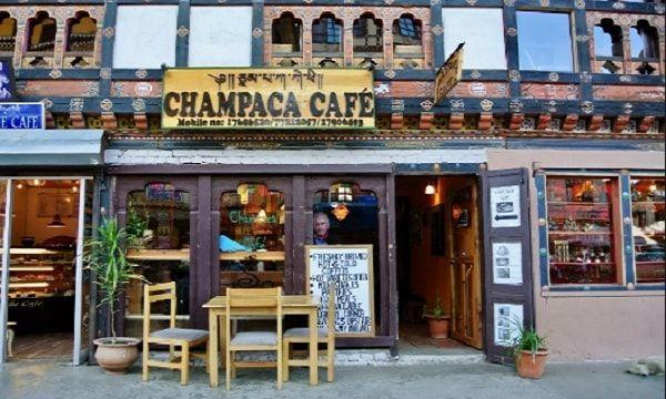Champaca Café bhutan