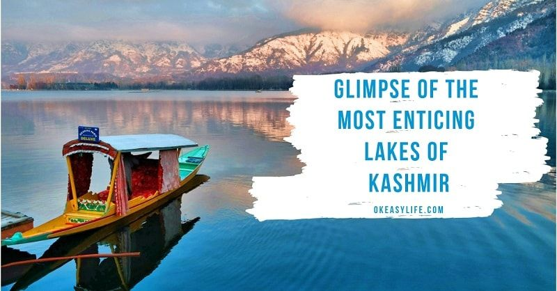 lakes in kashmir