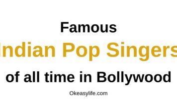 Indian Pop Singers