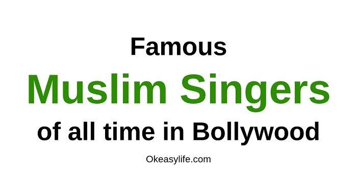 Muslim Singers