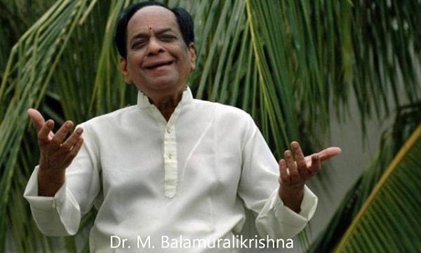 Dr. M. Balamuralikrishna