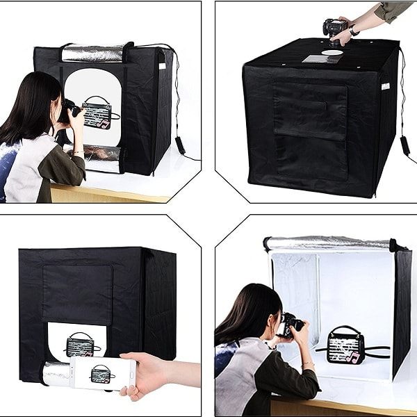 House Of Quirk Product Photography Light Box Kit