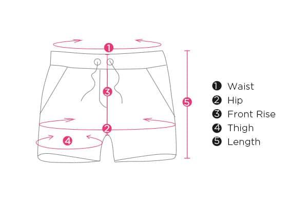 measuring shorts length