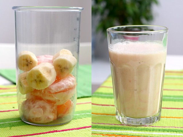 healthy banana smoothies