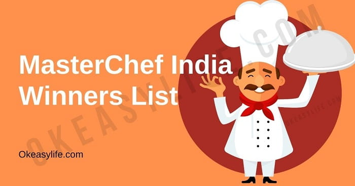 MasterChef India Winners