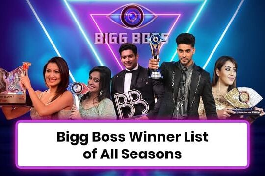 Bigg Boss Winners List