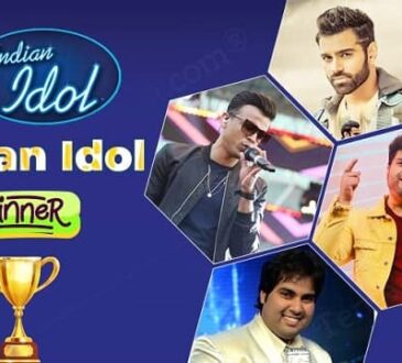 Indian idol winner list