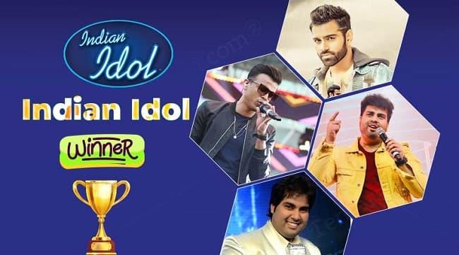 Indian idol winner list