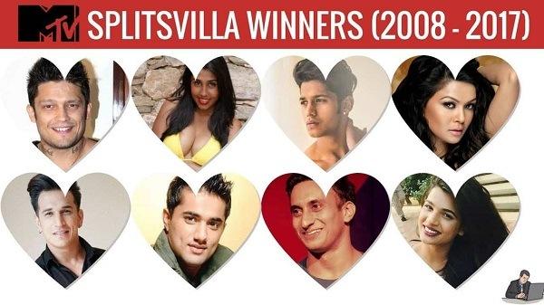 List of Splitsvilla Winners